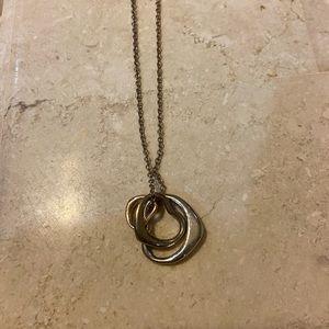 Jewelry - Triple heart necklace